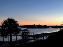 Sunset at Cedar Key