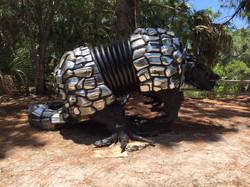 Sculpture at Boyd Hill