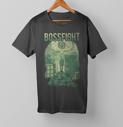 """Bossfight """"Ivy Mike"""" Design T-Shirt"""