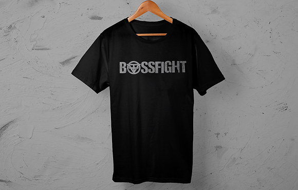 "Bossfight ""Basic"" Logo Tee"