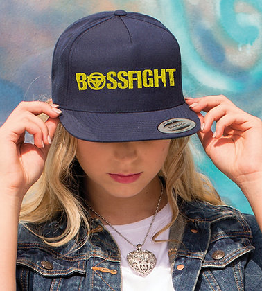 Bossfight Logo Embroidered Hat (Snap Back)