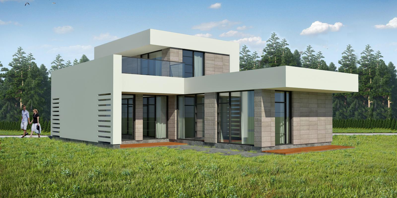 Modernus šeimos namas