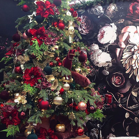 Red Velvet for a Christmas Luxury
