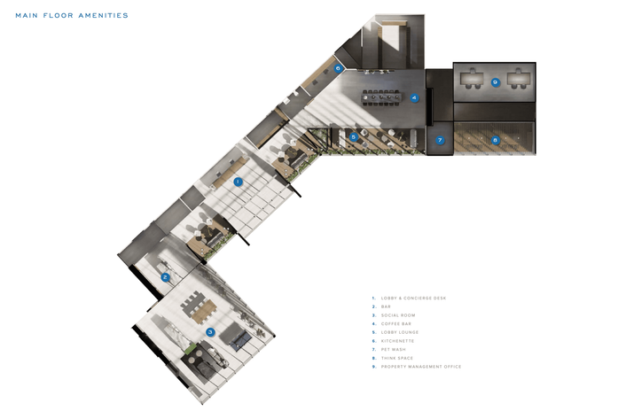 Main Floor Amenities