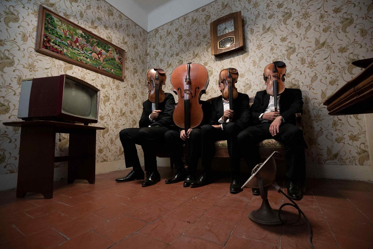 Quatuor Debussy (Credit Bernard Benant)