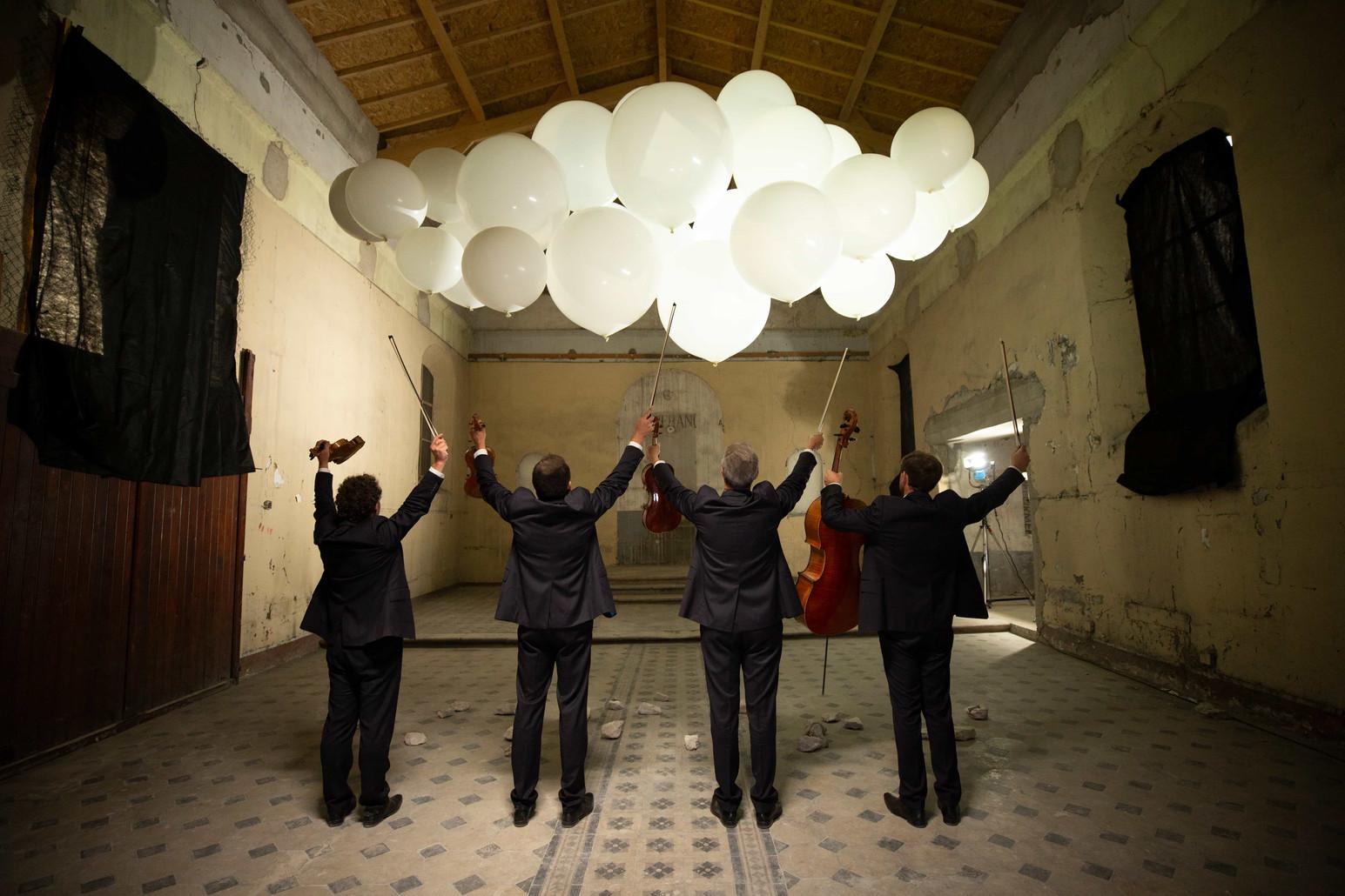 Quatuor Debussy 2020 (Credit Bernard Ben