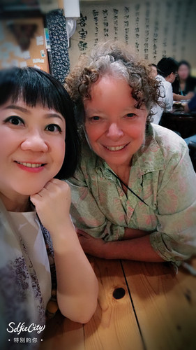 Meeting with Taiwan arts consultant Cami Liao in Taipei