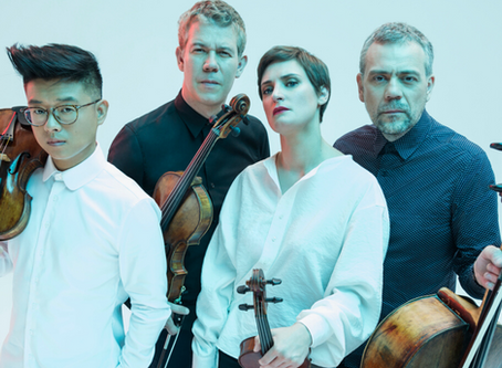 The Diotima Quartet in residence at the University of Chicago in 2020-21
