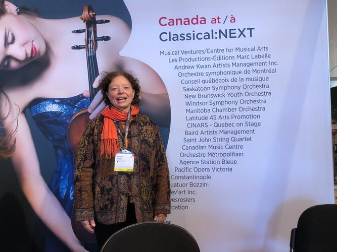 Barbara at Classical:NEXT 2019