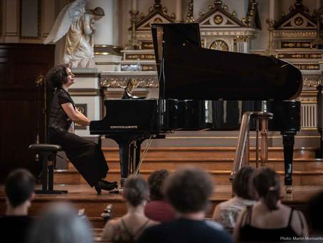 Eve Egoyan's concert at the FIMAV