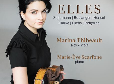 ELLES reviewed by Le Diapason!