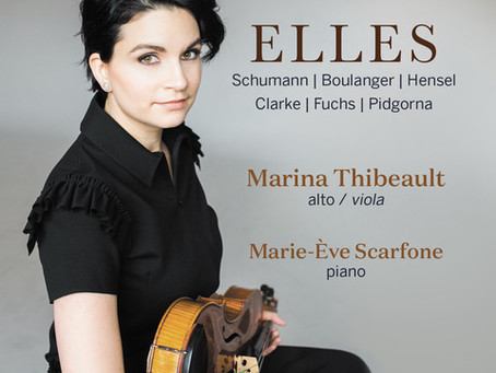 """""""ELLES"""" reviewed by The Strad!"""