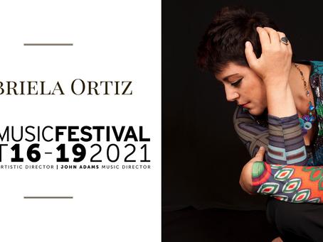 Gabriela Ortiz in residency at Ojai Music Festival