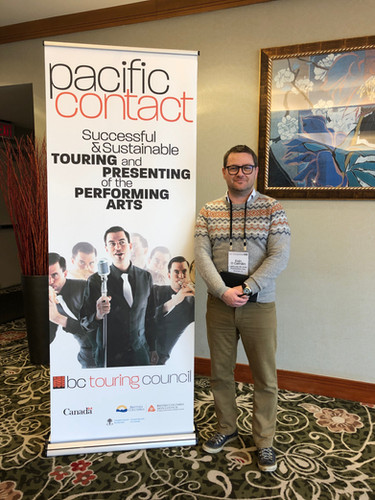 Eoin at Pacific Contact 2019