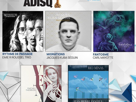 Migrations nominated at the ADISQ Gala!