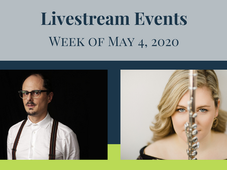 Tune in to this streaming performance from a Latitude 45 artist this week!