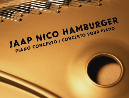 Jaap Nico Hamburger's piano concerto reviewed by Classical Music Sentinel!