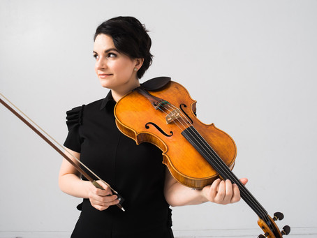 Violist Marina Thibeault's online performances in September
