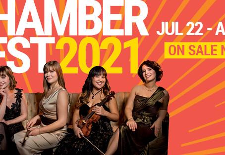 Latitude 45 Arts in the spotlight at Ottawa Chamberfest this summer!