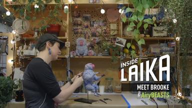 Inside LAIKA | Meet Brooke and her AiryBeasts