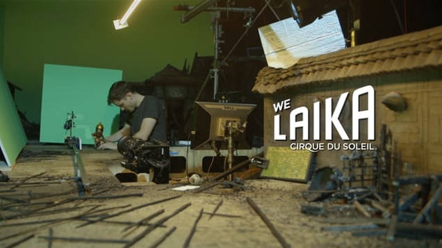 Cirque Du Soleil x LAIKA Studios