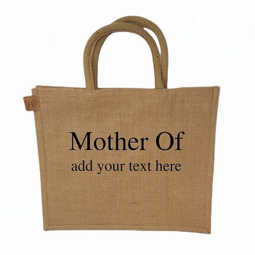 Personalised Mother Of Shopping Bag