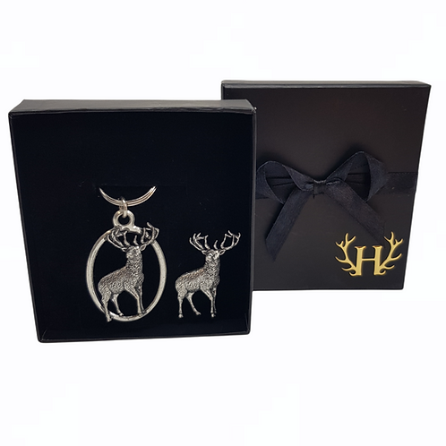 Standing Stag Gift Set