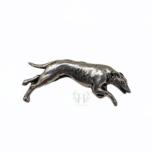 Greyhound Tie Pin Brooch