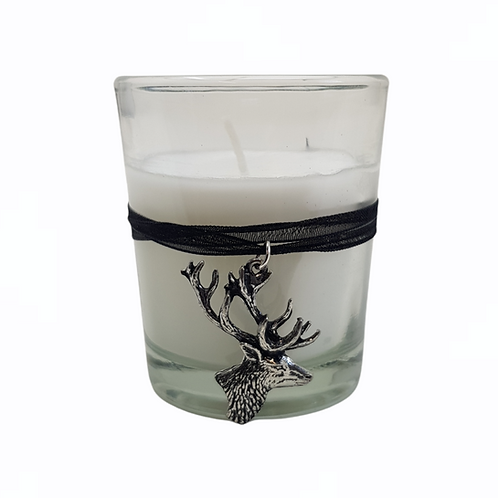 Side Looking Stag Candle Votive