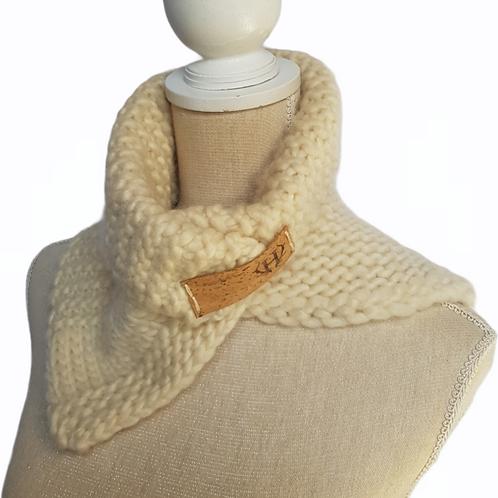 Women's Chunky Wool Scarf