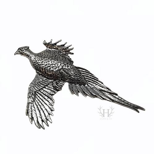 Flying Pheasant Tie Pin/Brooch