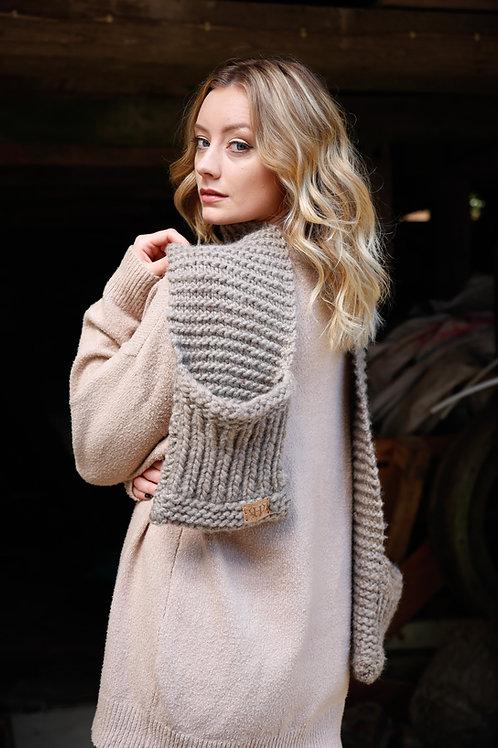 Women's Chunky Merino Wool Scarf