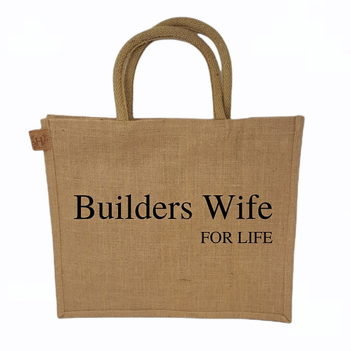 Builder Wife For Life Shopping Bag