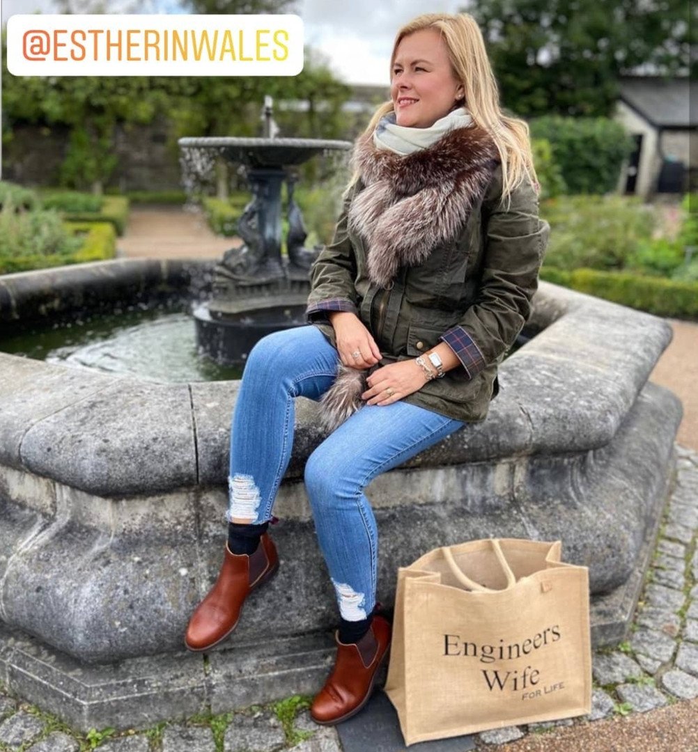 Esther in Wales
