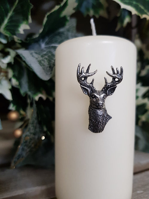Stag Candle Decoration