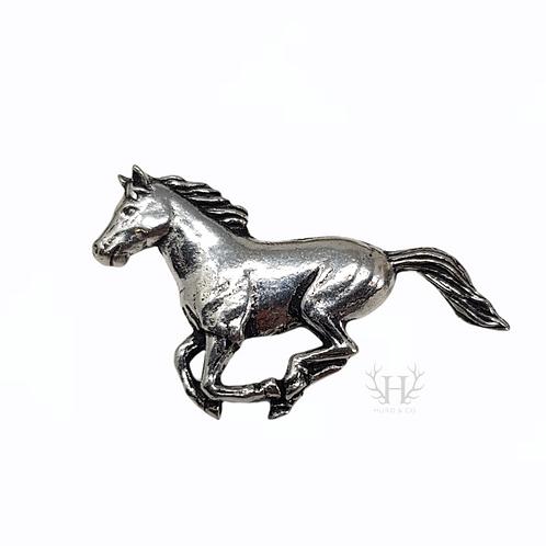 Running Horse Tie Pin Brooch