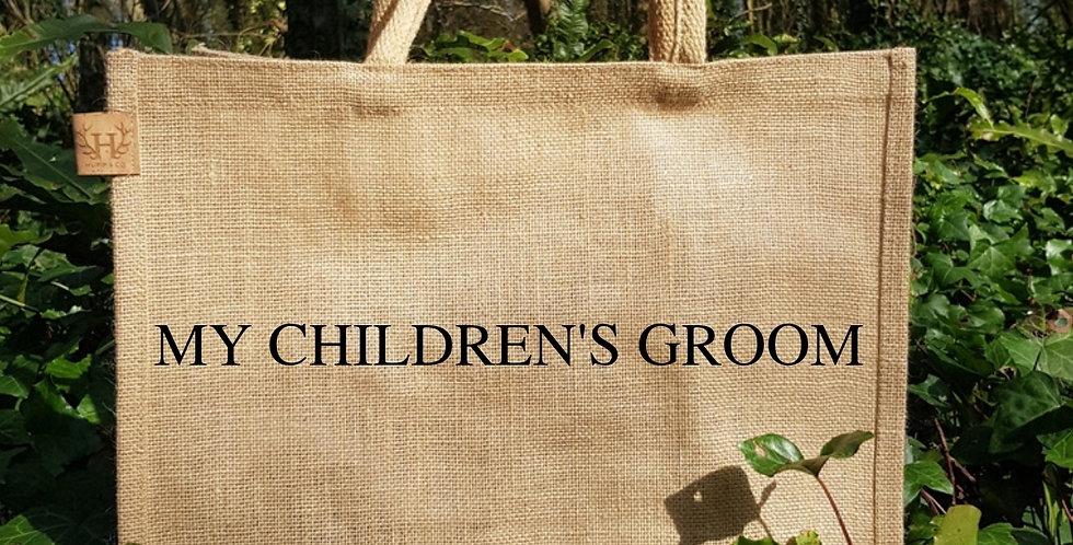 My Children's Groom Bag