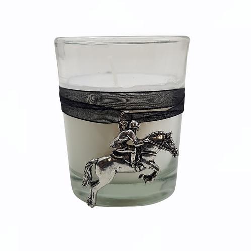Horse & Rider Candle Votive