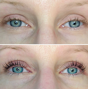 Lash lifting and lash tinting treatment in Annapolis