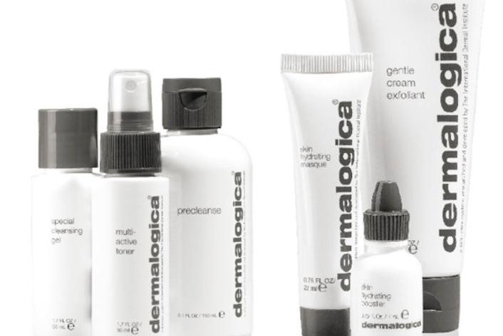 European facial using Dermalogica products