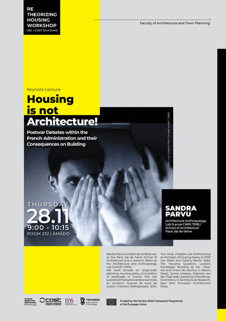 Housing is not Architecture!