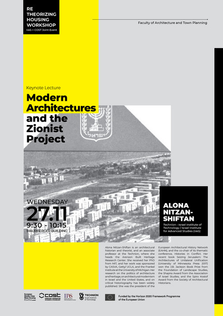 Modern Architectures and the Zionist Project