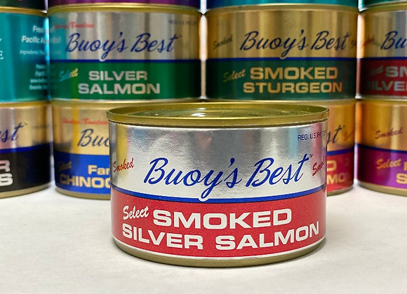 Smoked Silver Salmon 7oz