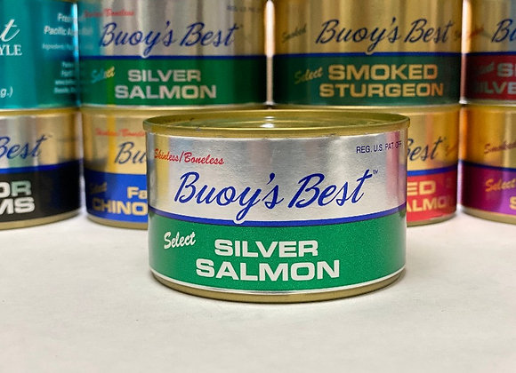 Silver Salmon     Case 24 Cans