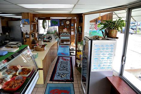Inside of Bell Buoy of Seaside Store