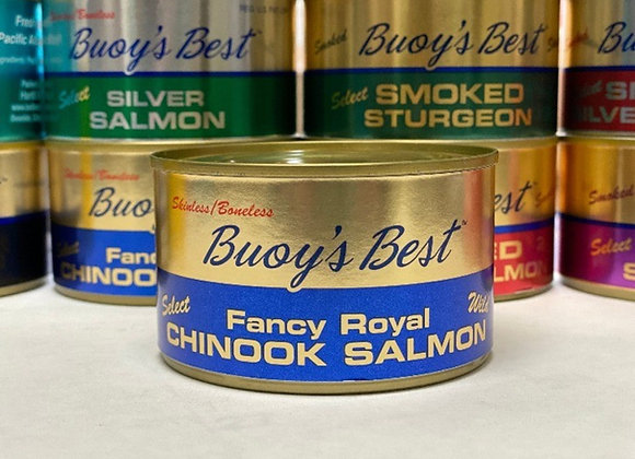 Royal Chinook Salmon    Case 24 Cans