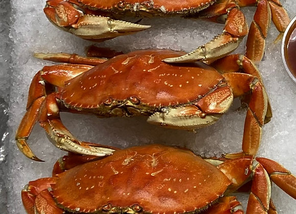 Three Whole Dungeness Crab