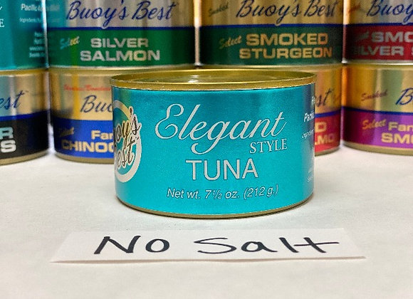 Elegant Albacore Tuna - No Salt - 7.5 oz