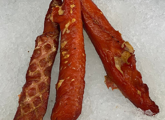 Smoked Salmon Strips - Choose 1,2,3,4 or 5 pounds