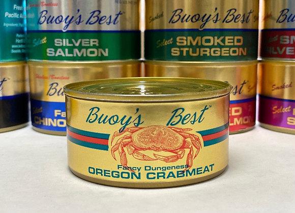 Fancy Dungeness Oregon Crabmeat   Half Case 12 Cans